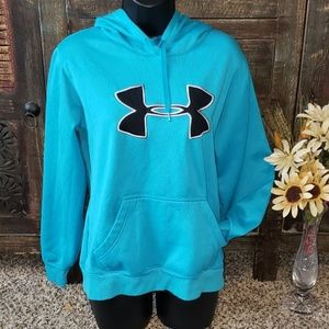 Sz M Turquoise Under Armour Hoodie